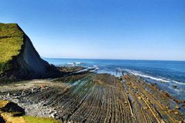 La Rasa Mareal y los acantilados del Flysch