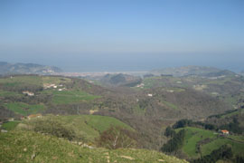 En Pagoeta se potencia la educación ambiental y el respeto por la naturaleza
