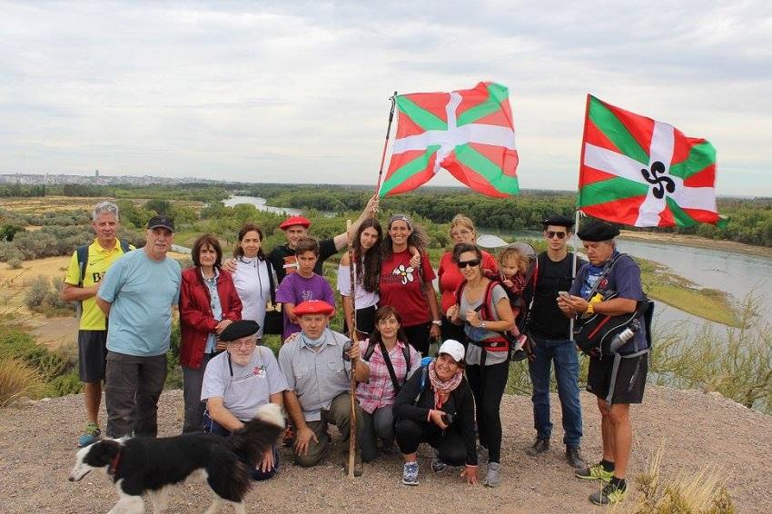 Primera salida grupal de 'Baskos de la Confluencia'