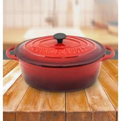 Olla de Hierro Fundido / Cocotte Ovalada Gourmet Tools