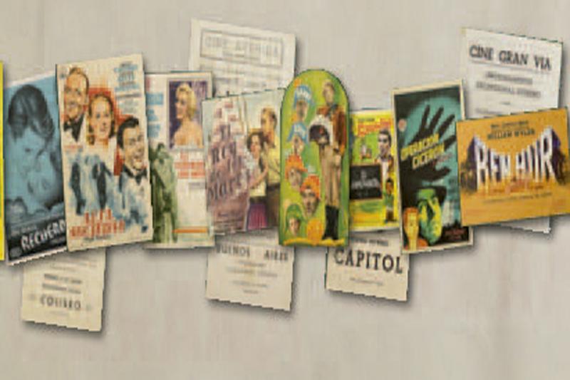 Tráilers de papel. Programas de Mano en los cines de Bilbao