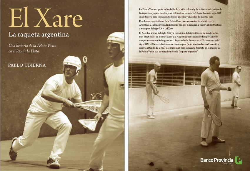 """""""Xare, erraketa argentinarra"""" liburua"""