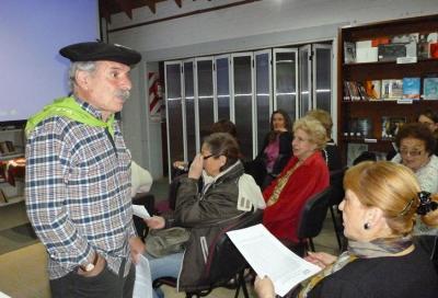 Euskal Zine Ibiltariaren sortzaile eta arduraduna den Carlos Gabilondo