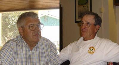 Jesus Lopategui eta Ramon Zugazaga (argazkiak Ondare Bizia)