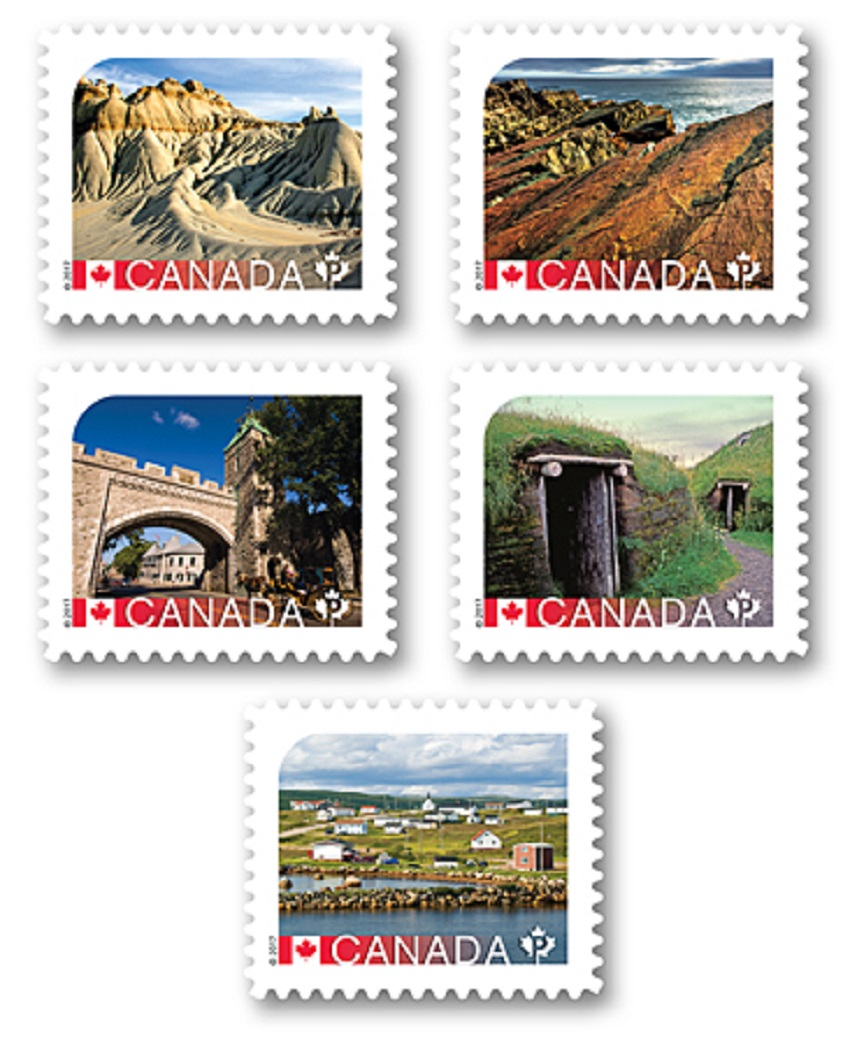 Canadian UNESCO Stamps