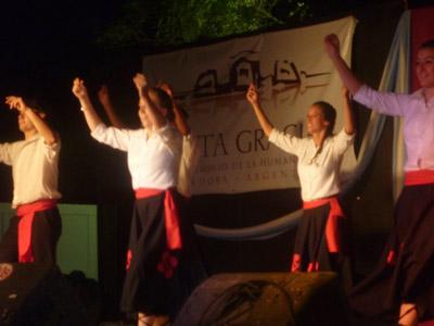 Gizataldeen Azoka Alta Gracia 2011 - Euskal dantzak