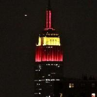 San Valentín en el Empire State Building