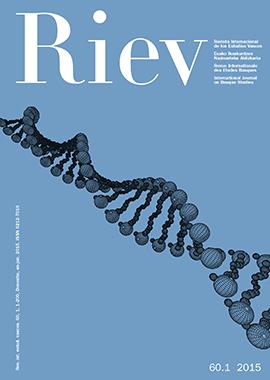 Revista Internacional de los Estudios Vascos. RIEV, 60, 1