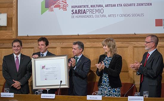 Prix Eusko Ikaskuntza-Laboral Kutxa d'Humanités, Culture, Arts et Sciences Sociales