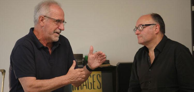 Eusko Ikaskuntzako Solasaldiak: Javier Aguirresarobe / José Luis Rebordinos
