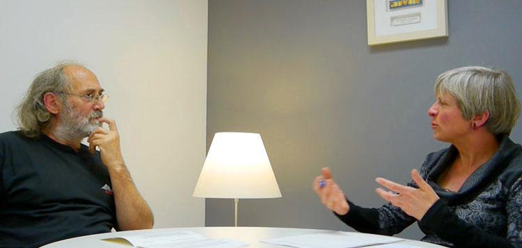 Eusko Ikaskuntzako solasaldiak: Xabier Insausti eta Margaret Bullen
