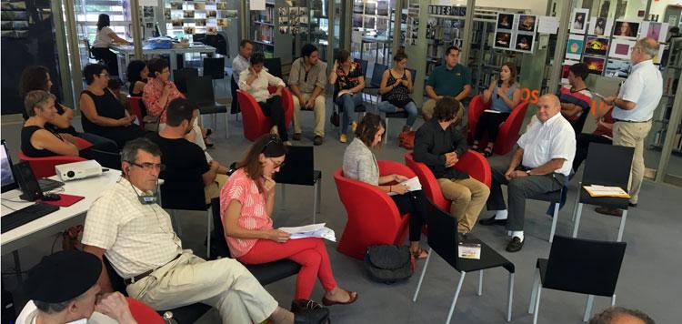 Eusko Ikaskutza eta Biarritzeko herriko etxeak 2016 ko ikerketa laguntzen banaketa