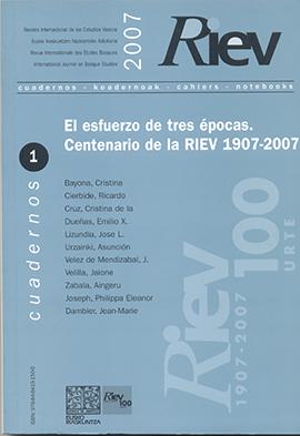 Revisión de trabajos aparecidos en la RIEV en el ámbito de las Ciencias Puras, la Economía y la Ciencia y la Tecnología