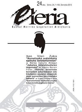 Eleria, Euskal Herriko Legelarien Aldizkaria