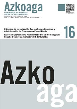 Azkoaga. Cuadernos de Ciencias Sociales y Económicas