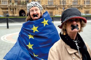 actualidad, contrarios al brexit, antibrexit, Reino Unido, xlsemanal