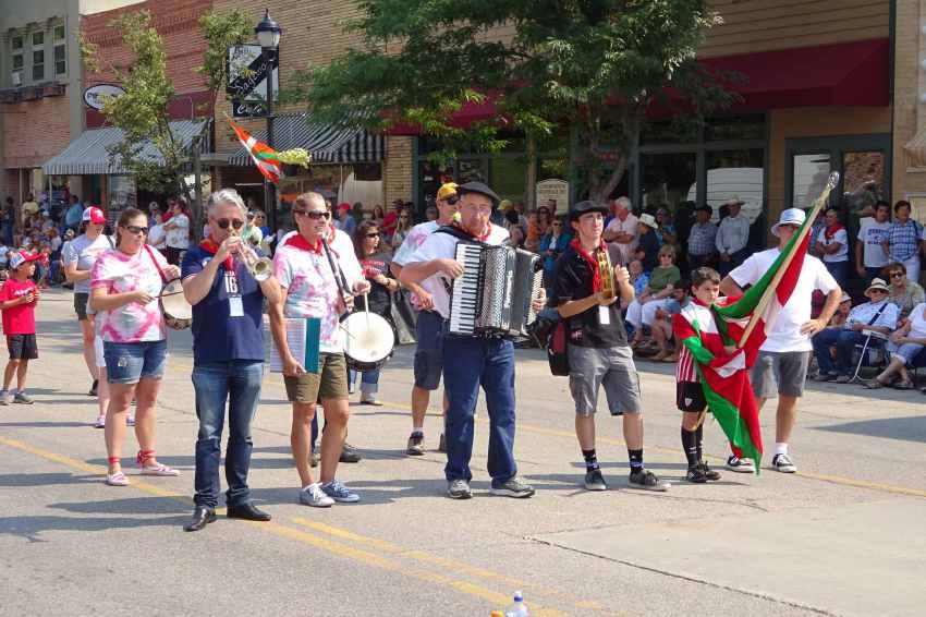 Utah-Kaliforniako Amerikanuak euskal banda