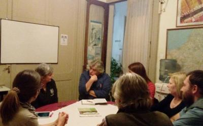 Basque classes at the Iparraldeko Euskal Etxea