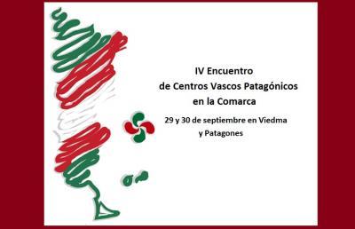 Cartel del 4º Encuentro de Euskal Etxeas de la Patagonia