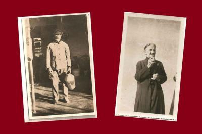 Juana Segundo Eguiazu eta Manuel Alejo Eguiazu birraitona-amonak