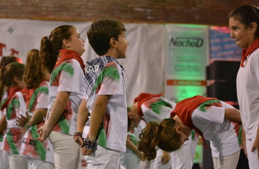 Cañuelasko dantzari txikiak