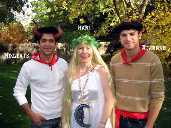Akelarre Jaia 2008 - Mari, Mikelats & Atarrabi