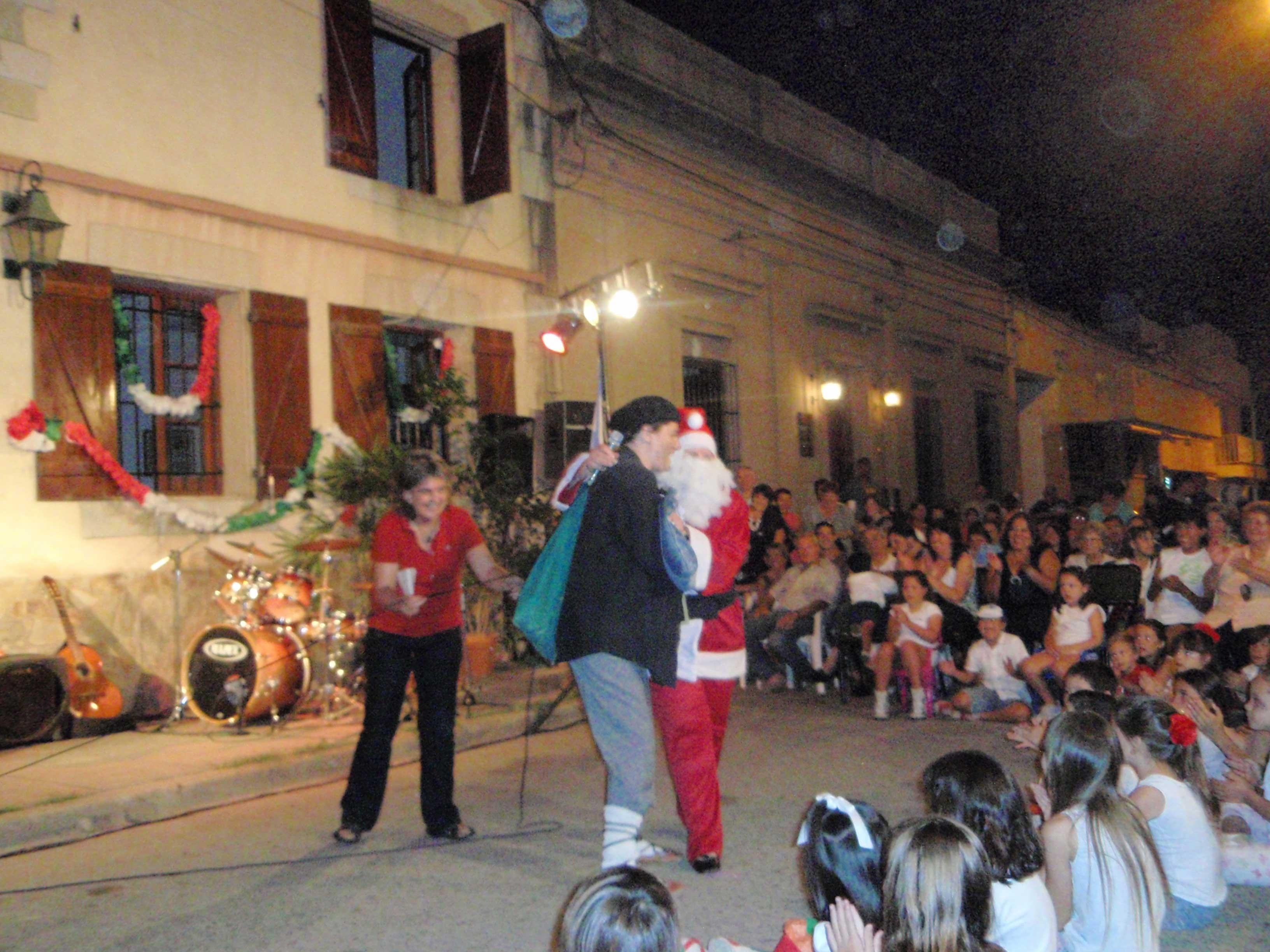 Urte Zahar Jaia 2008 - Olentzero & Papa Noel