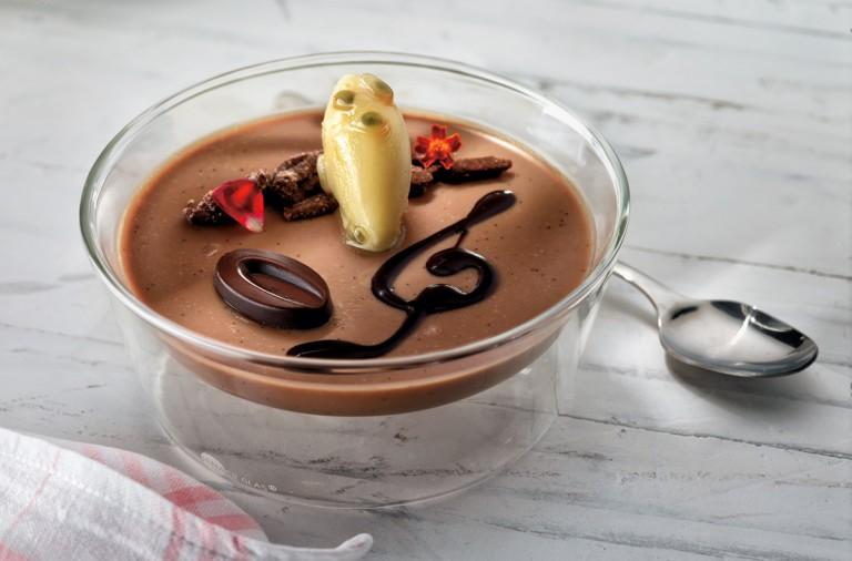 receta, postre, chocolate, coco y mandarina, martin berasategui, xlsemanal