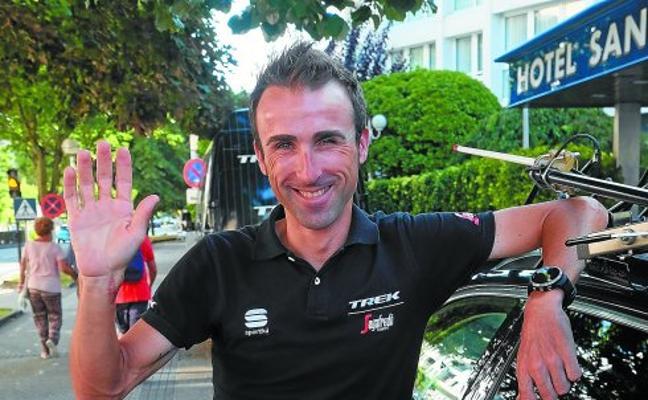 Haimar Zubeldia: «Me da un poco de vértigo imaginar cómo voy a adaptarme a mi nueva vida»