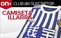 Consigue la camiseta de la Real Sociedad firmada por Illarra