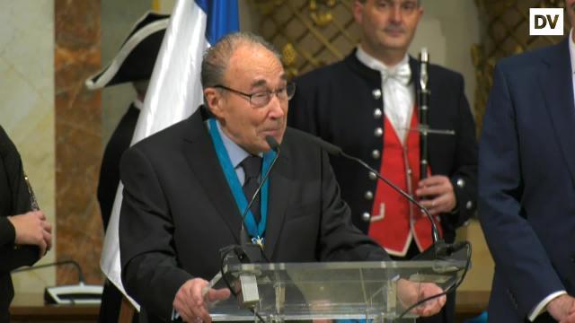 Paul Zubillaga, Medalla al Mérito Ciudadano 2018