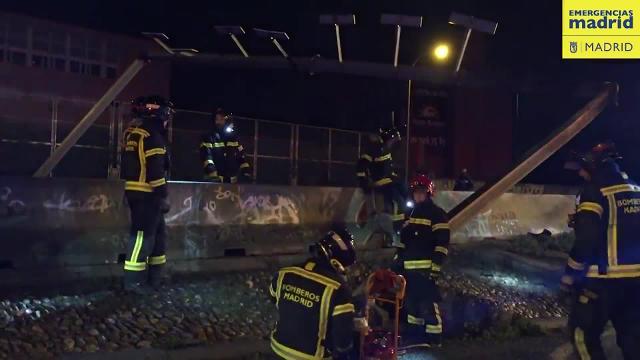 Dos muertos en un accidente en el Paseo de Extremadura