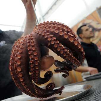 Feria del Marisco Gallego en Bilbao