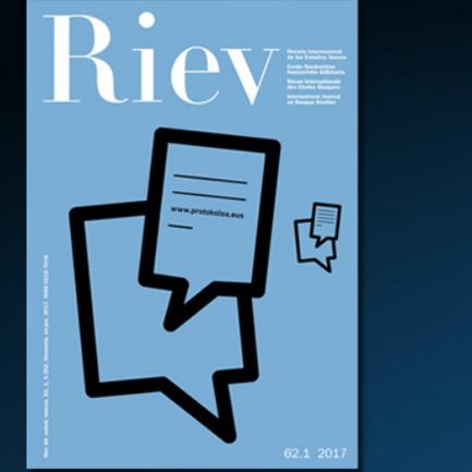 Nuevo número de la revista RIEV