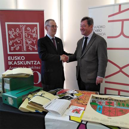 El Archivo Histórico de Euskadi acoge parte de los fondos de Eusko Ikaskuntza