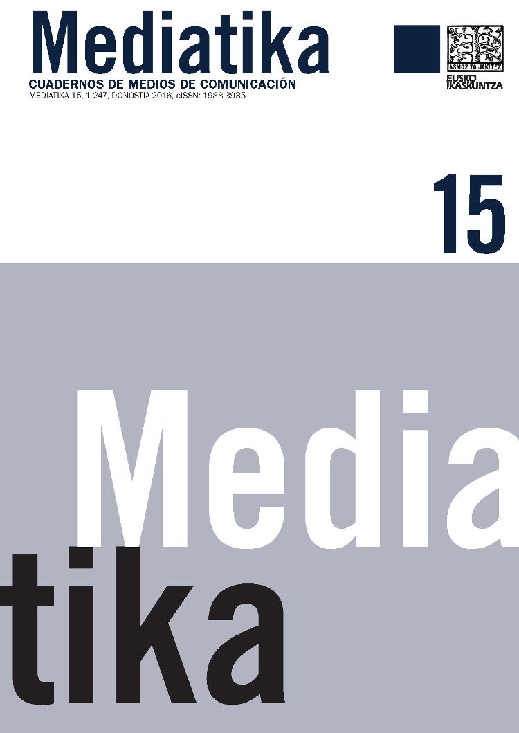 Mediatika. Cuadernos de Medios de Comunicación, 15 [on line]