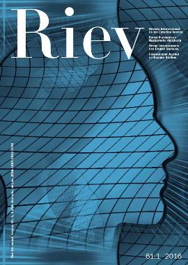 Revista Internacional de los Estudios Vascos. RIEV, 61, 1