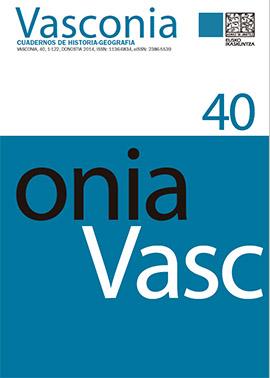 Vasconia. Cuadernos de Historia-Geografía, 40 [on line]