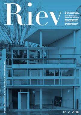 Revista Internacional de los Estudios Vascos. RIEV, 61, 2