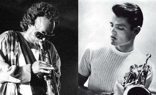 Chet Baker y Miles Davis