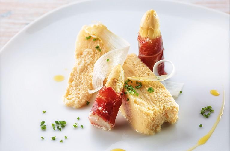 receta de martin berasategui, pastel de esparragos (1)