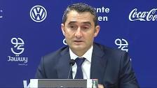 """Primera derrota liguera del Barsa, Valverde: """"El Levante es el equipo más en forma de la Liga"""""""