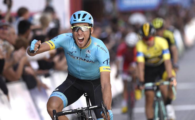 Omar Fraile, vencedor en Eibar