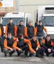 Trabajadores de Congelados Irusta