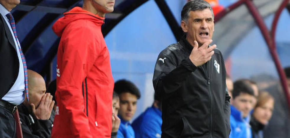 Mendilibar: «No estoy contento con este partido»