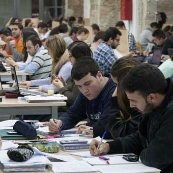 Aulas de estudio en Bilbao