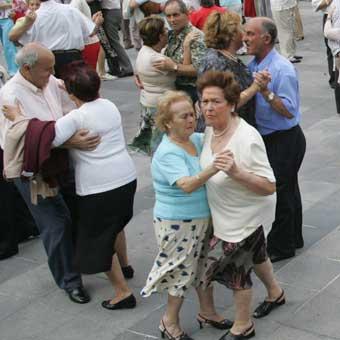 Bailables en San Ignacio en Bilbao