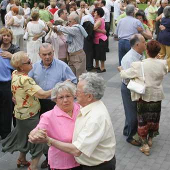 Bailes de tarde en La Casilla en Bilbao