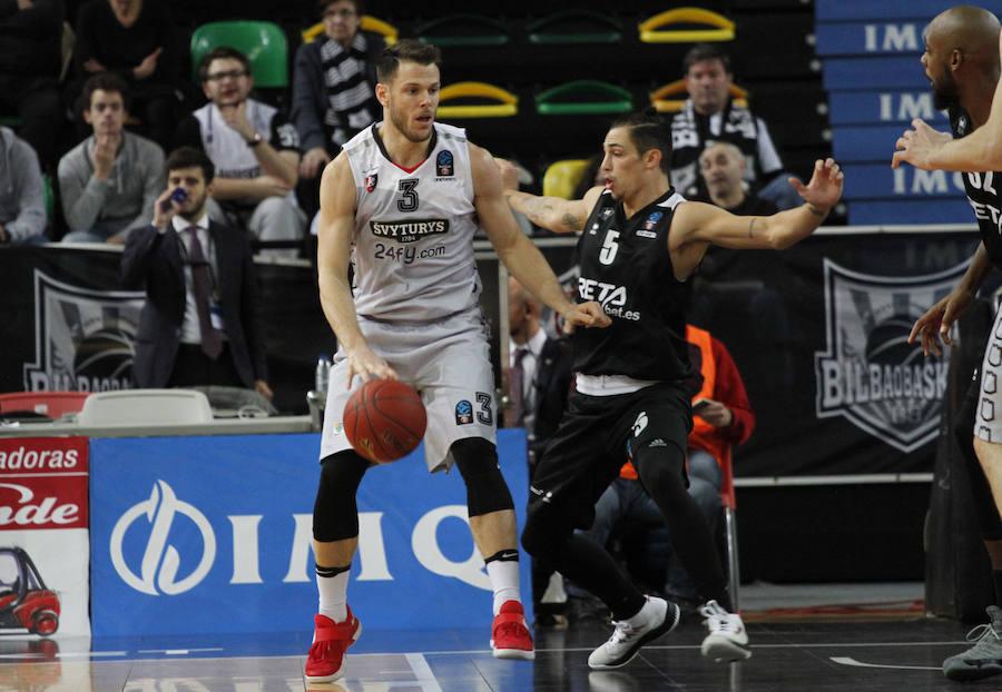 Las mejores imágenes del Bilbao Basket - Lietuvos Rytas
