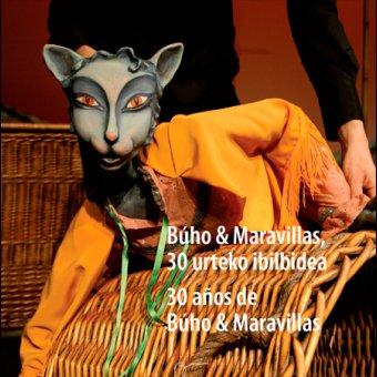Exposición 30 años de Búho & Maravillas en Tolosa